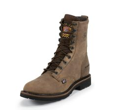 Justin Mens WK960 8 Inch Waterproof Work Boots