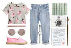 """""""niedopowiesci"""" by donia98 ❤ liked on Polyvore featuring H&M, I Love Ugly, Minor Obsessions, Sunday Somewhere and tarte"""