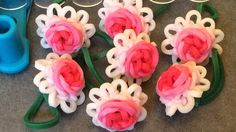 Requested Video: Rose Bloom on the Original Rainbow Loom