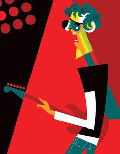 https://flic.kr/p/99sDyp   Spinetta III   Otra vez el flaco, esta vez para el Festival Cristal en Vivo El Abrazo. Art Pablo Lobato