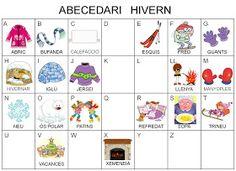 He actualizado el libro de vocabulario del invierno y le he añadido, además, vocabulario de navidad.   Os dejo también unos abecedarios que ...