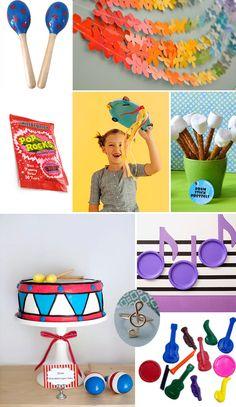 Ideas for a Music Themed Birthday Party - The Blog - salt & nectar