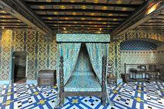 Schloss Blois- Schlafzimmer der Königin