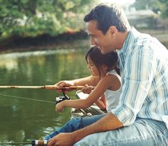 Take your child out for her first big catch.