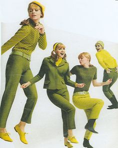 60s models, use jacket as is...and slacks