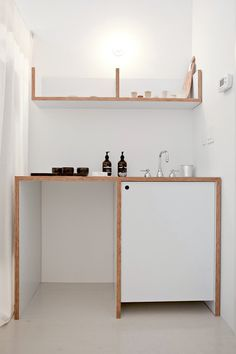 Pared down simplicity