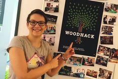 Der Countdown zum #Woodhack 2018 läuft! Warum sich Senior Developer @glitzerpopitzer unseren #Hackathon nicht entgehen lässt und wieso der Woodhack 2017 für sie ein ganz besonders Event war. #SignUpFromHell #Regenbogen #UXTodsünden