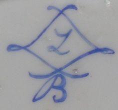 marque-porcelaine La marque de la porcelaine de Sèvres est constituée de L entrelacés Arabic Calligraphy, Arabic Calligraphy Art