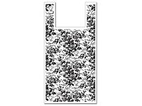 Floral Toile Plastic T-Sack Bags--- great for a retail therapy shoppe