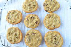 Crispy Chocolate Chip Cookies {Paleo}