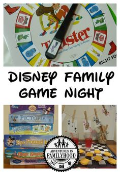 Resolve to play more in Have a Disney Family Game Night. Disney Games For Kids, Disney Activities, Disney Fun, Therapy Activities, Summer Activities, Disney Surprise, Disney Ideas, Disney Magic, Disney Family
