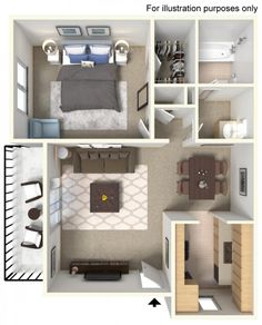 Make yourself at home with amenities you deserve and prices you'll love! Sims House Plans, House Layout Plans, House Layouts, Small House Plans, House Floor Plans, Home Building Design, Home Room Design, Home Design Plans, Sims House Design