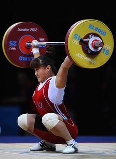 Maiya Maneza - Kazakhstan Women's 63kg Weightlifting golden medal.