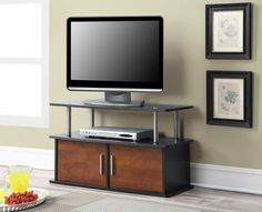 "Bedroom TV Stand Cabinet Entertainment Console Storage Media Center Storage 36""  #CC #Modern"
