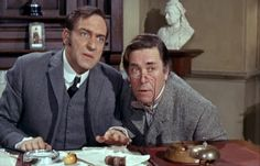 Harry H. Corbett as Detective Sergeant Sidney Bung, in his one and only 'Carry On' film: 'Carry On Screaming' 1966