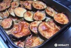 Sajtos sült padlizsán Griddle Pan, No Bake Cake, Vegetable Recipes, Zucchini, French Toast, Food And Drink, Gluten, Vegan, Baking