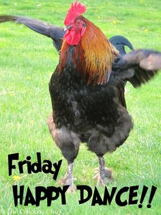 Let's dance the whole day through.....FRIDAY,One, Two!