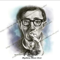 I drew a woody Allen portrait  some years ago because I like all his movies and retouched with colour to sell products and prints. Happy birthday woody!! (1-12-1935) #instagood #woodyallen #drawings #movie #arte #films #cine #love #art #prints #instaarte #instaart #illustration #retrato #picoftheday #portrait #sketch #sketchaday #pencildrawing #face #cara #instagood #lovefilm #color #colours #happybirthday #has_talent #artcollector #felizcumpleaños #dibujos #spokeart