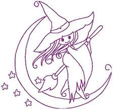 Witches - Free Instant Machine Embroidery Designs
