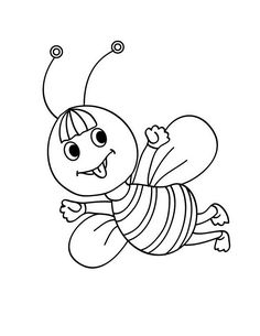 582 best p elice images on pinterest bees activities and art for kids Drone Bee kawaii bee coloring page if you like challenging coloring pages try this kawaii bee coloring page we have lots of nice printables in insect coloring