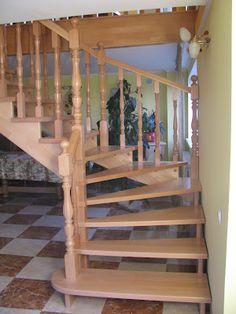 Изделия из Дерева: Деревянные Лестницы