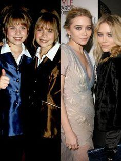 Miss Trend She: grown up gorgeous: child stars, then and now Mary Kate and Ashley Olsen