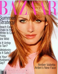 Spring Sun's you can have red hair, too. Amber Valletta