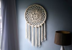Love it:  DIY - Big Dreams Dream Catcher by Caught On A Whim, via Flickr