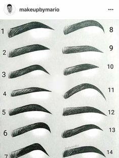 Which eyebrow shape is your go-to? We like and //Regra Which eyebrow shape is your go-to? We like and //Regra ausformung bemalung maquillaje makeup shaping maquillage Anime Eyebrows, Eyebrows Sketch, Drawing Eyebrows, Makeup Drawing, Nose Drawing, Types Of Eyebrows, How To Draw Eyebrows, Eyebrow Types, Thicker Eyebrows