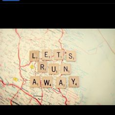 I just want to travel the world..together.