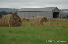 Wheaton Covered Bridge by Troy And Naomi, via Flickr-Sackville,New Brunswick,barns 10/25/2004 >>>ew513