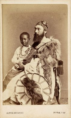 HIH Prince Alámayou of Ethiopia (1861-1879) was the son of Emperor Tewodros II of Ethiopia. After his father's suicide, the prince was taken to Britain under the care of Captain Tristram Speedy (1836-1911).