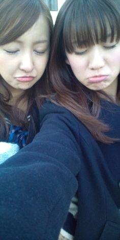 Tomochin and Yuko :( #akb48