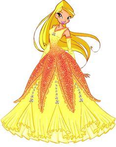 Resultado de imagen para winx club stella dress