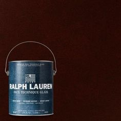 Ralph Lauren 1-gal. Moroccan Red Antique Leather Specialty Finish Interior Paint-AL11 - The Home Depot