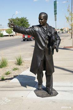George W. Bush Statue, Presidents Tour, Rapid City, South Dakota - 43rd President of the United States of America