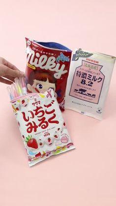 最近ツイッターでも話題のお菓子ポーチ大好きなお菓子のパッケージが