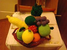 Fruits by Crochet Fanatic