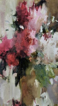 Bunch of Pionies  oil on canvas, 2006