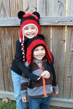 Mickey Minnie Mouse hats