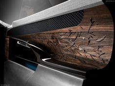 Peugeot Exalt wood carved