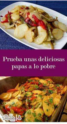 papas a lo pobre | CocinaDelirante