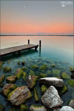 Jetty on Lake Garda