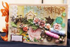 Canvas Album with Webster's Modern Romance by Iris Babao Uy