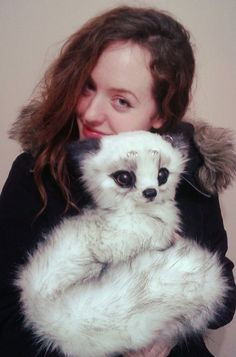 :) HOLLY FRIGGIN SHMEEZUS HES SOOO CUTE,! Fantasy Arctic Fox - Poseable Art-Doll Creature by RikerCreatures on DeviantArt