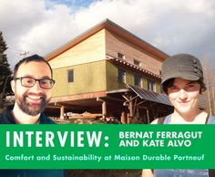 Green Building in Cold Climates: Inhabitat Interview with Bernat and Kate of Maison Durable Portneuf | Inhabitat - Sustainable Design Innovation, Eco Architecture, Green Building