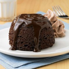 Chocolate Lava Mug Cakes