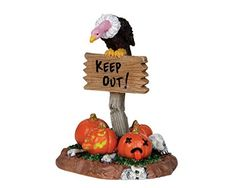 Lemax Spooky Town Keep Out 24475 *** Be sure to check out this awesome product.