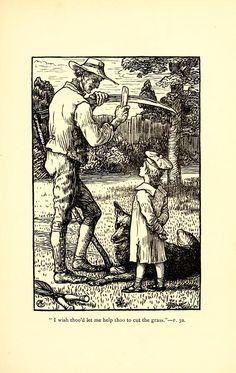 A Christmas child; a sketch of a boy-life:  ill. Walter Crane