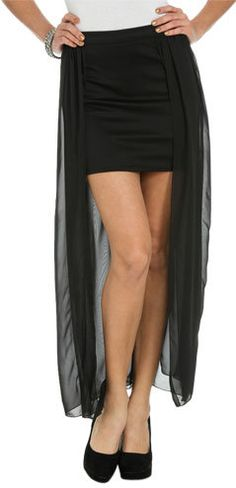 #Wet Seal                 #Skirt                    #Chiffon #Panel #Mini #Skirt #Shop #Bottoms #Seal   Chiffon Panel Mini Skirt | Shop Bottoms at Wet Seal                           http://www.seapai.com/product.aspx?PID=304303